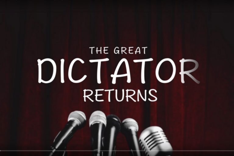 Great Dictator Returns Cover Photo